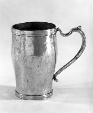 Mug with Handle, Possibly late 16th century. Silver Brooklyn Museum, Museum Expedition 1941, Frank L. Babbott Fund, 41.1275.223. Creative Commons-BY