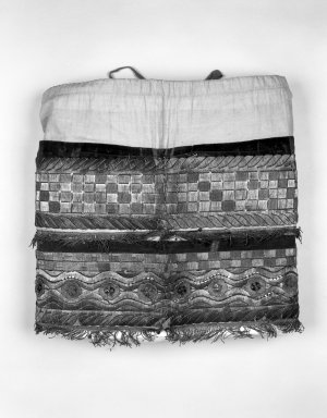 Brooklyn Museum: Overskirt from Man's Festival Costume