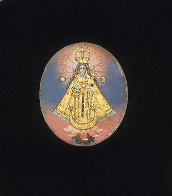 Brooklyn Museum: Painted Medallion