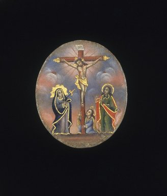 Painted Medallion