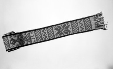 Otomi. Woven Belt. Cotton Brooklyn Museum, Museum Expedition 1941, Ella C. Woodward Memorial Fund, 41.1310.2d. Creative Commons-BY