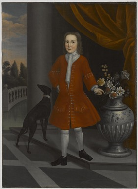 American. Pierre Van Cortlandt, ca. 1731. Oil on linen, 57 x 41 9/16 in. (144.8 x 105.5 cm). Brooklyn Museum, Dick S. Ramsay Fund, 41.151