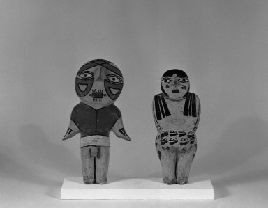 Nasca. Male Figurine. Ceramic, pigment Brooklyn Museum, Henry L. Batterman Fund, 41.431. Creative Commons-BY