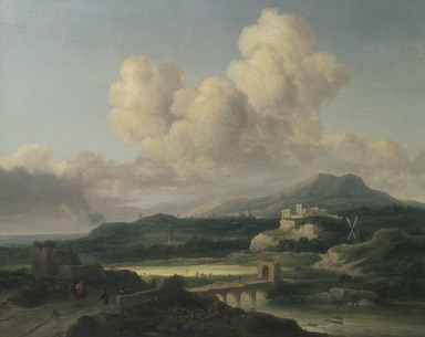 Thomas Doughty (American, 1793-1856). Landscape after Ruisdael, 1846. Oil on canvas, 32 1/16 x 39 5/16 in. (81.4 x 99.9 cm). Brooklyn Museum, Gift of the Pierrepont Family, 41.5