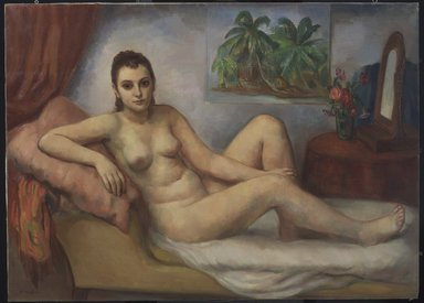 Bernard Karfiol (American, born Hungary, 1886-1952). The Awakening, ca. 1940. Oil on canvas, 45 x 59 in. (114.3 x 149.9 cm). Brooklyn Museum, John B. Woodward Memorial Fund, 41.680. © Estate of Bernard Karfiol, courtesy of Forum Gallery, New York