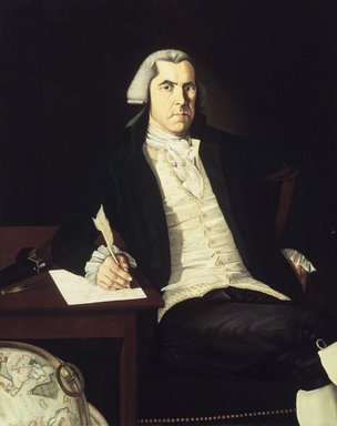 John Mason Furness (American, 1763-1804). John Vinall, ca. 1792. Oil on canvas, 49 5/16 x 39 7/16 in. (125.2 x 100.2 cm). Brooklyn Museum, Dick S. Ramsay Fund, 41.878