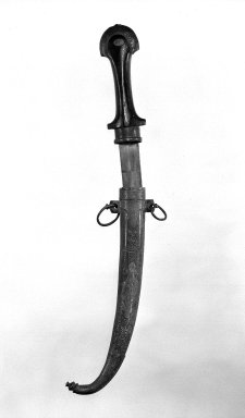 Dagger with Scabbard. Steel, 16 1/4 in. (41.3 cm). Brooklyn Museum, Gift of Percy C. Madeira, Jr., 42.245.15a-b. Creative Commons-BY