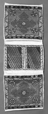 Fragment /Saddlebag, 20th century. Wool Brooklyn Museum, Gift of Irving Mead, 42.304. Creative Commons-BY