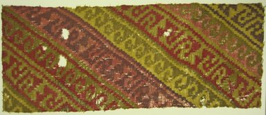 Chancay. Textile Fragment, undetermined, 1000-1400. Textile. Brooklyn Museum, A. Augustus Healy Fund, 42.313. Creative Commons-BY