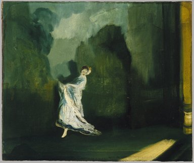 Everett Shinn (American, 1876-1953). Keith's Union Square, ca. 1902 - 1906. Oil on canvas, 20 5/16 x 24 1/4 in. (51.6 x 61.6 cm). Brooklyn Museum, Dick S. Ramsay Fund, 42.6