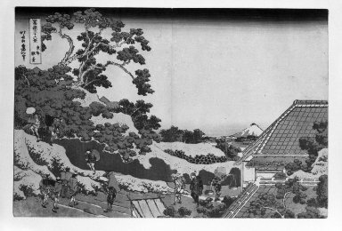 Brooklyn Museum: Fuji from Surugadai
