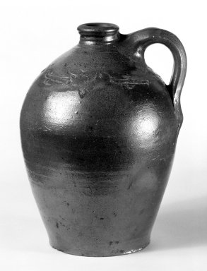 American. Jug. Stoneware Brooklyn Museum, Gift of Arthur W. Clement, 43.128.158. Creative Commons-BY