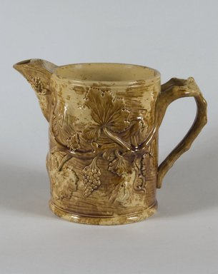 Ale Pitcher, 1852. Earthenware, 7 7/8 in. (20 cm). Brooklyn Museum, Gift of Arthur W. Clement, 43.128.28. Creative Commons-BY