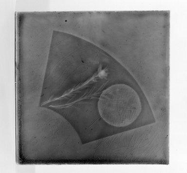 Tile, 1883-1887. Earthenware, lead glaze, 6 x 6 in. (15.2 x 15.2 cm). Brooklyn Museum, Gift of Arthur W. Clement, 43.128.64