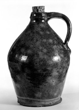 American. Jug. Earthenware Brooklyn Museum, Gift of Arthur W. Clement, 43.128.89. Creative Commons-BY