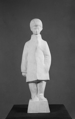 Bernard Walsh (American, born 1912). Miner's Son, Before 1940. Marble, 30 x 11 x 6 in. (76.2 x 27.9 x 15.2 cm). Brooklyn Museum, Courtesy of the Fine Arts Program, U.S. General Services Administration, 43.146