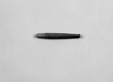 Native American. Pipe Stem, 19th century. Wood, 4 15/16 x 9/16 in. (12.5 x 1.4 cm). Brooklyn Museum, Anonymous gift in memory of Dr. Harlow Brooks, 43.201.246. Creative Commons-BY