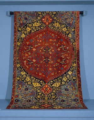 Brooklyn Museum: Medallion Ushak Carpet