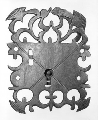 Lock. Metal Brooklyn Museum, Museum Expedition 1944, Purchased with funds given by the Estate of Warren S.M. Mead, 44.195.34. Creative Commons-BY