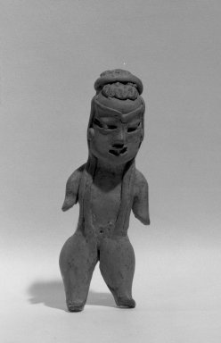 Female Figurine. Clay Brooklyn Museum, Museum Expedition 1944, Purchased with funds given by the Estate of Warren S.M. Mead, 44.195.4. Creative Commons-BY