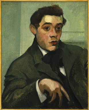 Max Weber (American, born Russia, 1881-1961). Abraham Walkowitz, 1907. Oil on canvas, 25 1/4 x 20 1/4 in. (64.1 x 51.4 cm). Brooklyn Museum, Gift of Abraham Walkowitz, 44.65