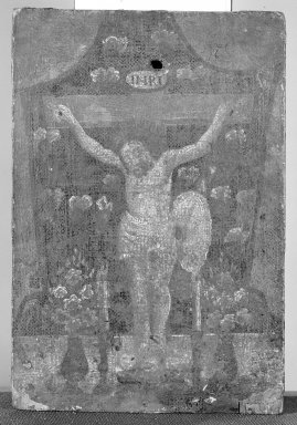 Mexican. Crucifijo, Nuestro Senor de Chalma., 8 x 5 in. (20.3 x 12.7 cm). Brooklyn Museum, Henry L. Batterman Fund, 45.128.12