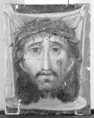 Mexican. El Velo de Santa Veronica. Painting on fabric, 8 x 6 in. (20.3 x 15.2 cm). Brooklyn Museum, Henry L. Batterman Fund, 45.128.37