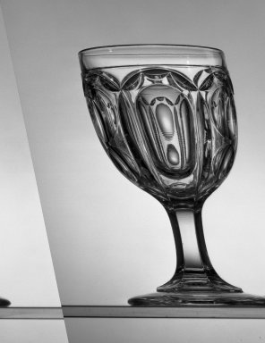 American. Goblet, about 1869. Glass, H: 6 in. (15.2 cm). Brooklyn Museum, Dick S. Ramsay Fund, 45.143.42. Creative Commons-BY