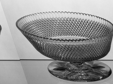American. Compote, about 1870-1880. Glass, 3 7/8 x 8 in. (9.8 x 20.3 cm). Brooklyn Museum, Dick S. Ramsay Fund, 45.143.5. Creative Commons-BY