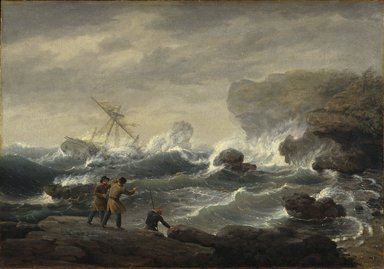 Thomas Birch (American, 1779-1851). Shipwreck, 1829. Oil on canvas, 27 3/16 x 39 1/16 in. (69 x 99.2 cm). Brooklyn Museum, Dick S. Ramsay Fund, 45.166