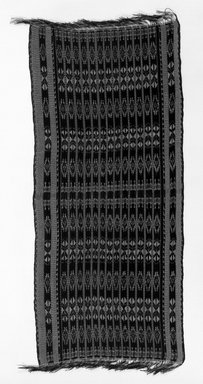 Shawl. Cotton ikat Brooklyn Museum, Dick S. Ramsay Fund, 45.183.113. Creative Commons-BY
