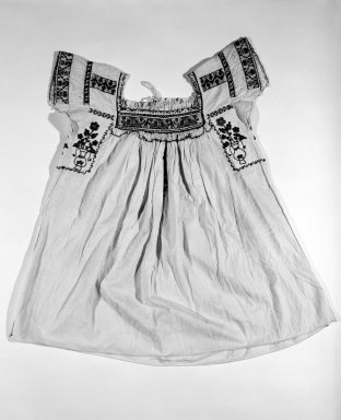 Girl's Dress. Cotton Brooklyn Museum, Gift of Emil Johnson, 46.145.2. Creative Commons-BY
