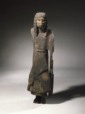 Sa-Iset the Younger, ca. 1279-1203 B.C.E. Wood, 22 1/2 x 6 x 6 1/2 in. (57.2 x 15.2 x 16.5 cm). Brooklyn Museum, Charles Edwin Wilbour Fund, 47.120.2. Creative Commons-BY