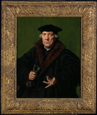 Jan Cornelisz. Vermeyen (Dutch, 1500-1559). Portrait of Jean de Carondelet, ca. 1530. Oil on panel, 30 3/4 x 24 1/2 in. (78.1 x 62.2 cm). Brooklyn Museum, Gift of Horace O. Havemeyer, 47.76
