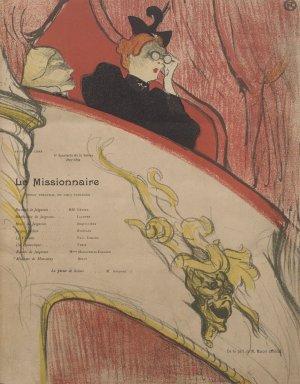 Henri de Toulouse-Lautrec (French, 1864-1901). La Loge au Mascaron Dore, 1893. Lithograph on wove paper, 12 1/16 x 9 1/2 in. (30.7 x 24.1 cm). Brooklyn Museum, Henry L. Batterman Fund, 48.11.2