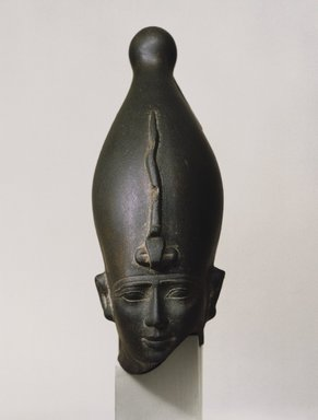 Brooklyn Museum: Head of a King Wearing Crown