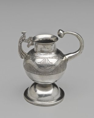 Maté Cup, 18th-19th century. Silver, 4 1/4 x 3 15/16 x 2 9/16 in. (10.8 x 10 x 6.5 cm). Brooklyn Museum, Frank L. Babbott Fund, Frank Sherman Benson Fund, Carll H. de Silver Fund, A. Augustus Healy Fund, Caroline A.L. Pratt Fund, Charles Stewart Smith Memorial Fund, and Ella C. Woodward Memorial Fund, 48.206.65. Creative Commons-BY