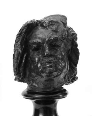 Auguste Rodin (French, 1840-1917). Balzac, Final Study for the Head (Balzac, dernière étude pour la tête), 1897; cast date unknown. Bronze, 7 1/2 x 6 1/8 x 6 1/2 in.  (19.1 x 15.6 x 16.5 cm). Brooklyn Museum, Gift of the Brooklyn Daily Eagle, 48.3. Creative Commons-BY