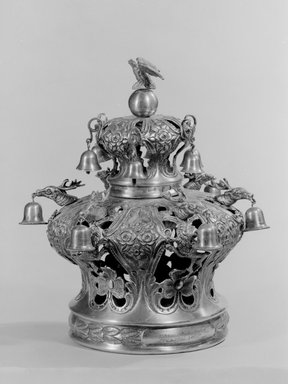 J. Szekman. Torah Crown, 1860. Silver, 11 5/8 x 11 3/4 x 11 3/4 in. (29.5 x 29.8 x 29.8 cm). Brooklyn Museum, Purchased with funds given by S. Ralph Lazrus, 49.228.15. Creative Commons-BY