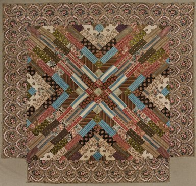Brooklyn Museum: Medallion Quilt
