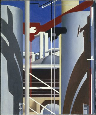 Charles Sheeler (American, 1883-1965). Incantation, 1946. Oil on canvas, 24 1/8 x 20 1/8 in. (61.3 x 51.1 cm). Brooklyn Museum, Ella C. Woodward Memorial Fund and John B. Woodward Memorial Fund, 49.67