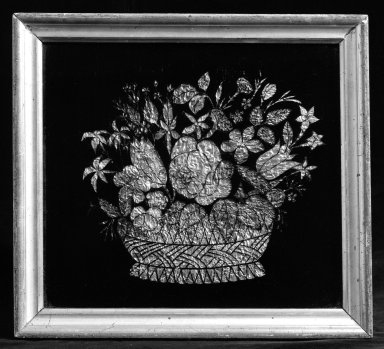 American. Painting. Glass, Frame: 11 x 12 in. (27.9 x 30.5 cm). Brooklyn Museum, Bequest of Mrs. William Sterling Peters, 50.141.163. Creative Commons-BY