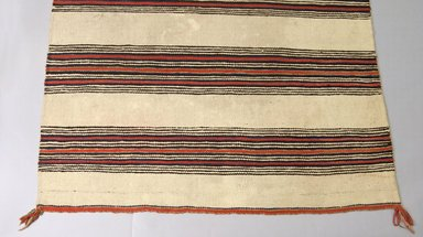 Navajo (Native American). Blanket, 1900. Wool, dye, 50 x 78in. (127 x 198.1cm). Brooklyn Museum, Henry L. Batterman Fund and the Frank Sherman Benson Fund, 50.67.47. Creative Commons-BY