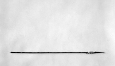 Sioux (Native American). Medicine Man's Wand, 1801-1833, early 19th century. Willow(?) wood, pony beads, dyed horsehair, 30 x 1/2 x 1/2 in. (76.2 x 1.3 x 1.3 cm). Brooklyn Museum, Henry L. Batterman Fund and the Frank Sherman Benson Fund, 50.67.98. Creative Commons-BY
