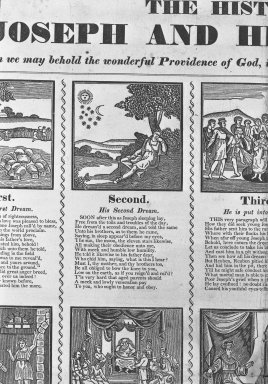 Brooklyn Museum: Broadside: The History of Joseph and His Brethren