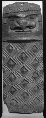 Kanak. Doorjamb (Jovo), early 20th century. Wood, 63 x 23 x 7 1/2 in. (160 x 58.4 x 19.1 cm). Brooklyn Museum, Anonymous gift, 52.124. Creative Commons-BY