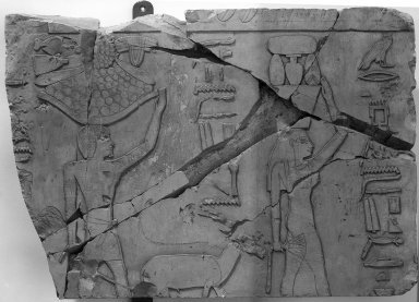 Nes-Peka-Shuti Relief: Block, ca. 664-610 B.C.E. Limestone, 16 1/8 x 23 1/2 in. (41 x 59.7 cm). Brooklyn Museum, Charles Edwin Wilbour Fund, 52.131.12. Creative Commons-BY