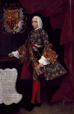Brooklyn Museum: Don Juan Xavier Joachín Gutiérrez Altamirano Velasco, Count of Santiago de Calimaya
