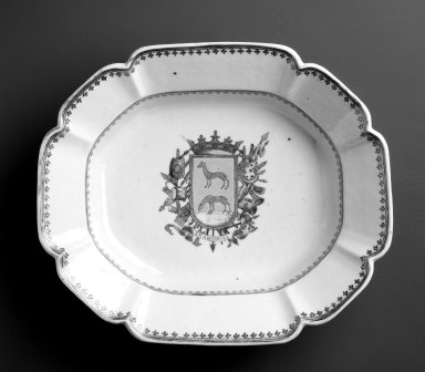 Bowl, ca. 1770. Ceramic; porcelain, 10 7/8 x 9 1/4 in. Brooklyn Museum, Museum Collection Fund and Dick S. Ramsay Fund, 52.166.25. Creative Commons-BY