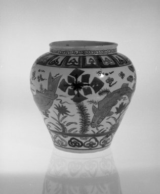 Brooklyn Museum: Globular Jar